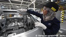 Marokko Autoindustrie - Kenitra PSA-Produktion