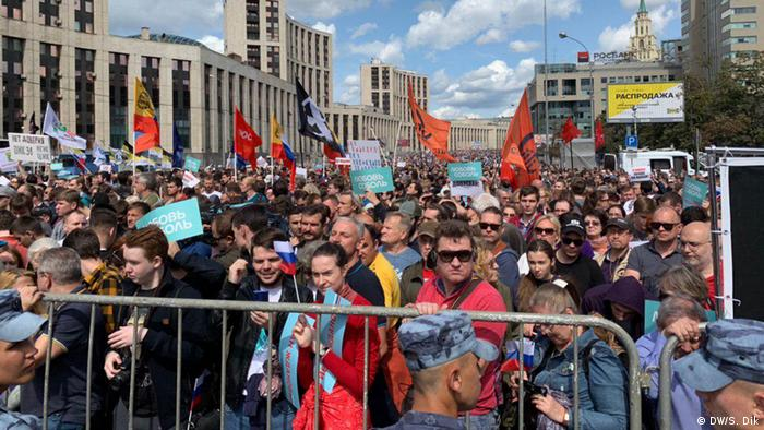 The rally attracted thousands of participants