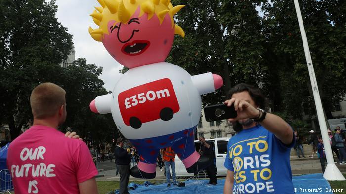 Demonstrasi, London, Boris Johnson