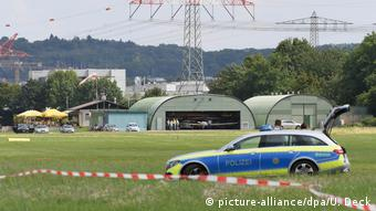 The pilot appeared to be trying to land at a nearby airstrip used by air sports hobbyists