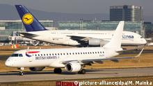 Deutschland British Airways und Lufthansa (picture-alliance/dpa/M. Mainka)