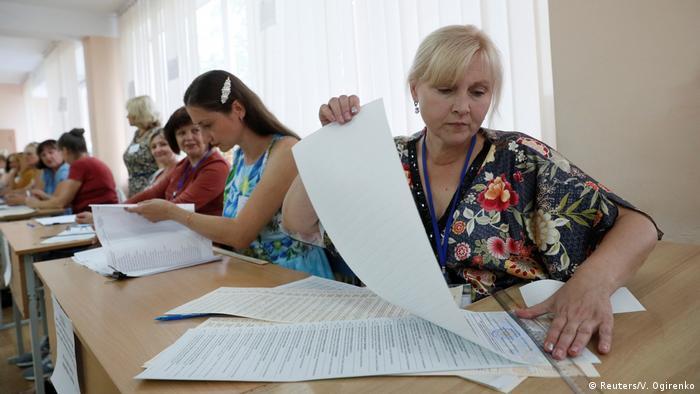 Ukraine Parlamentswahlen