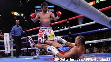 WBA Super-Welt Weltergewicht | Manny Pacquiao vs. Keith Thurman (Getty Images/AFP/J. Gurzinski)