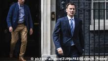 UK Iran Krisis | Außenminister Jeremy Hunt (picture-alliance/ZUMAPRESS.com/R. Pinney)