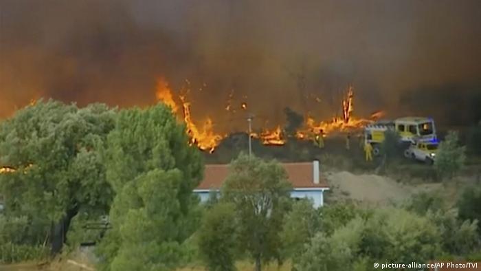 Waldbrände Portugal Karte.Waldbrände In Portugal Weitestgehend Unter Kontrolle Aktuell
