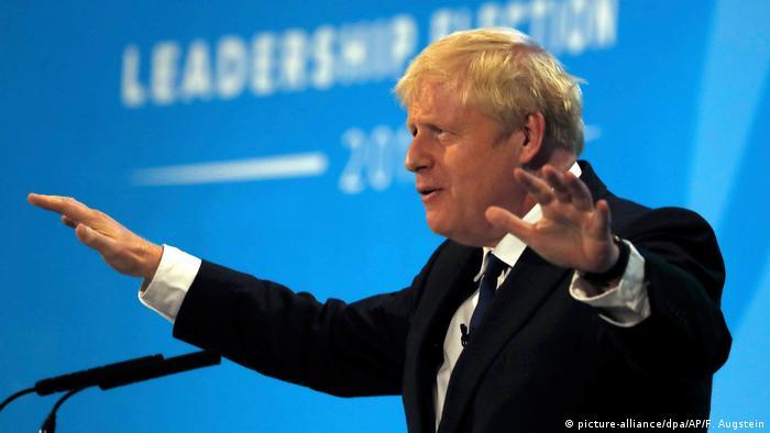 Ex-ministro do Exterior Boris Johnson