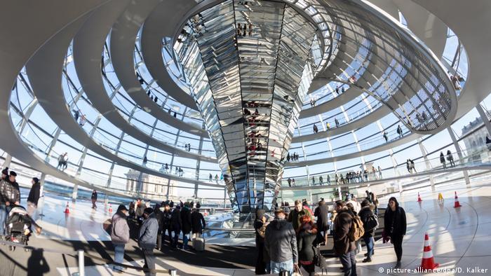 Deutschland | Reichstag | Kuppel