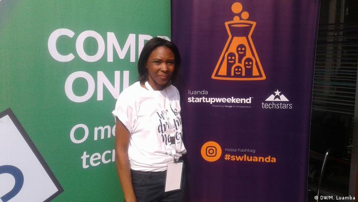Vanda de Oliveira, organizadora do Startup Weekend Luanda