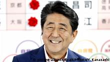 Japan | Wahlen | Shinzo Abe (picture-alliance/dpa/AP Photo/Y. Kanazashi)