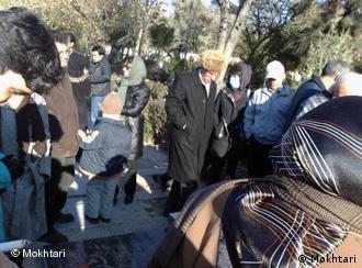 مراسم بزرگداشت مختاری و پوینده در سال گذشته. عکس از آرشیو