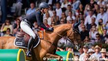 CHIO Aachen Pferdesport Springen | Reiterin Simone Blum aus Deutschland