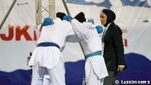 Irans Karatteam bei den Asienmeisterschaften