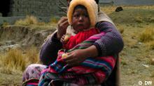 Landbevölkerung auf dem Altiplano