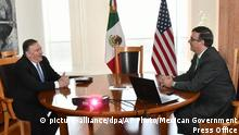Mexiko | Mike Pompeo zu Besuch (picture-alliance/dpa/AP Photo/Mexican Government Press Office)