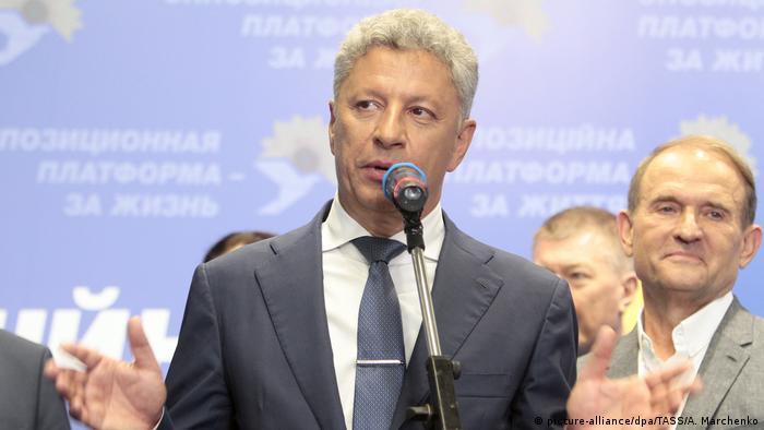 Юрій Бойко та Віктор Медведчук (п)