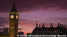 Großbritanien | London | Big Ben | Houses of Parliament | Westminster