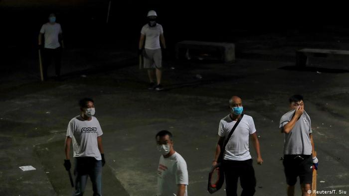 Hongkong Auschreitungen bei Protesten