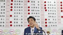 Shinzo Abe Premierminister Japan