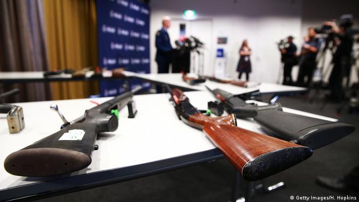 Waffen in Neuseeland