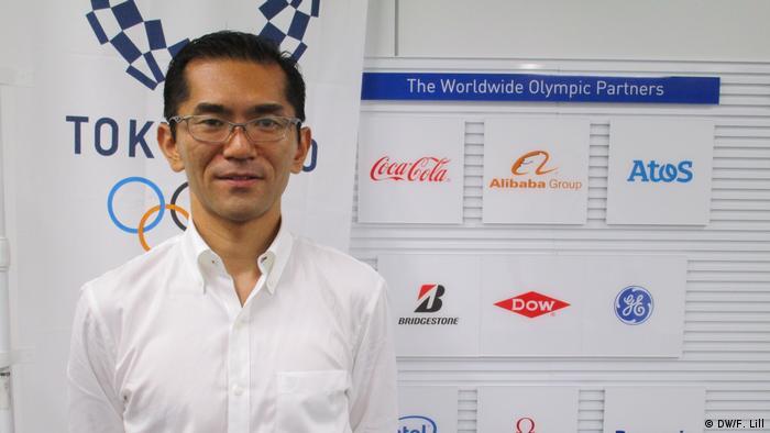 Masa Takaya, Sprecher des Tokioter Organisationskomitees