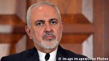 Türkei Ankara | Irans Außenminister Mohammad Javad Zarif während Pressekonferenz