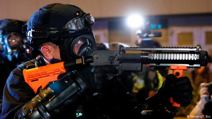 BG Hongkong Anti-Auslieferungsproteste (Reuters/T. Siu)