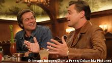 RELEASE DATE: August 9, 2019 TITLE: Once Upon a Time in Hollywood STUDIO: DIRECTOR: Quentin Tarantino PLOT: A TV actor and his stunt double embark on an odyssey to make a name for themselves in the film industry during the Charles Manson murders in 1969 Los Angeles. STARRING: BRAD PITT as Cliff Booth, LEONARDO DICAPRIO as Rick Dalton. Los Angeles U.S. PUBLICATIONxINxGERxSUIxAUTxONLY - ZUMAl90_ 20190621_sha_l90_676 Copyright: xColumbiaxPicturesx
