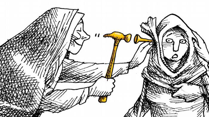 Iran, Hijab, golden Wednesday, Mana Neyestani