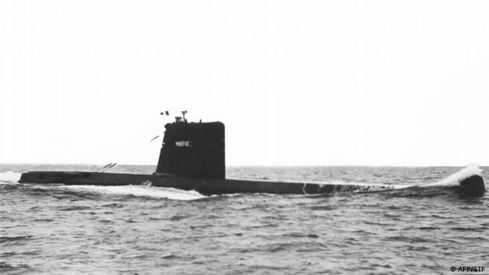 French submarine that vanished in 1968 found in