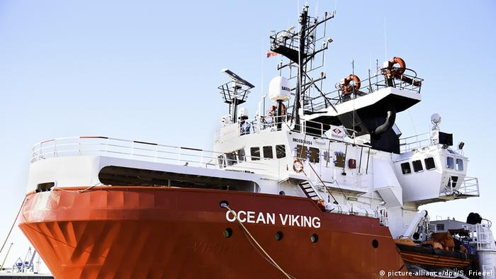The Ocean Viking (picture-alliance/dpa/S. Friedel)