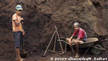 Brasilien Kinderarbeit Steinmine Mine