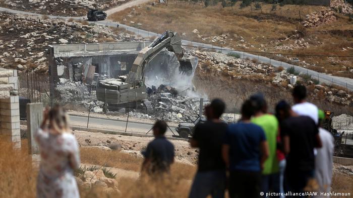 Знесення Ізраїлем палестинських будівель