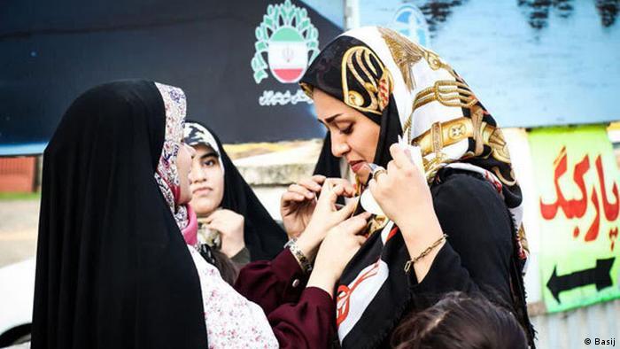 islamische Kleiderordnung (Basij)