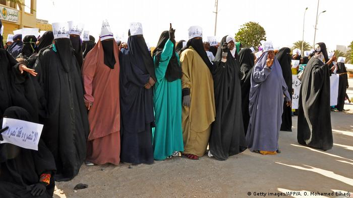 Mauritanien Protest