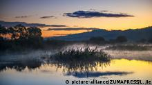 China Yanming Lake Nationales Naturschutzgebiet