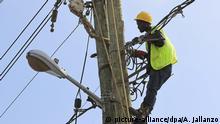 Afrikaische Stromversorgung