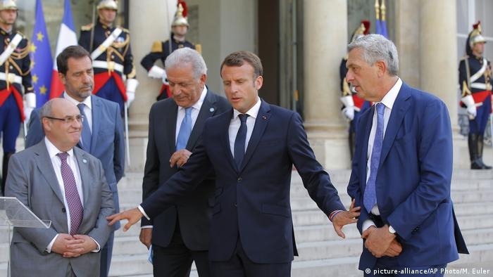 French President and other minsters, Paris, France
