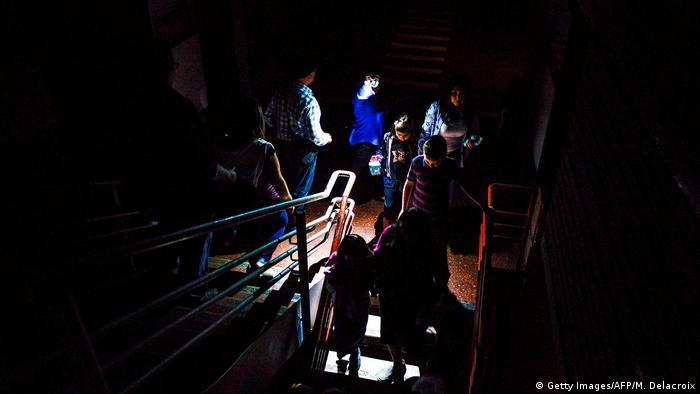 Venezuela   Blackout   Stromausfall (Getty Images/AFP/M. Delacroix)
