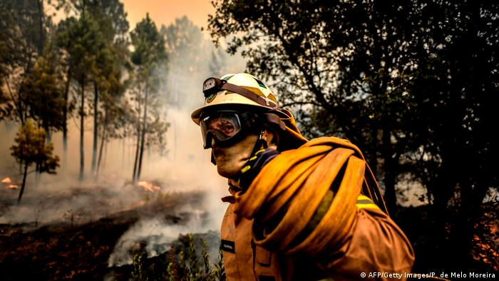 Portugal wildfire declared under control