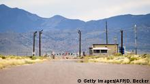 USA Nevada | Facebook Witz Area 51 zu stirmen geht Viral (Getty Images/AFP/D. Becker)