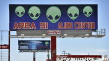 USA Nevada | Facebook Witz Area 51 zu stirmen geht Viral