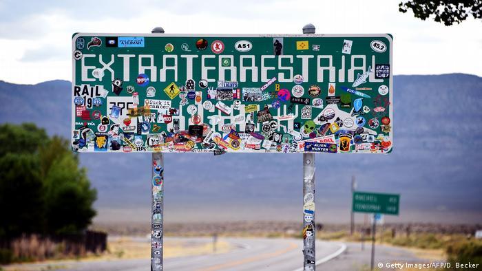 USA Nevada | Facebook Witz Area 51 zu stirmen geht Viral (Getty Images/AFP/D. Becker)