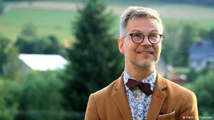 Jacek Dehnel podczas Festiwalu Góry Literatury, 2019