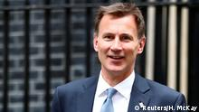 Großbritannien London | Jeremy Hunt