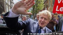 July 22, 2019, London, UK: Conservative Party leadership contender BORIS JOHNSON leaves an address in Westminster. He is one of two remaining candidates in the leadership contest. (Credit Image: © George Cracknell Wright/London News Pictures via ZUMA Wire)