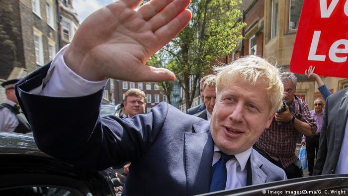 Boris Johnson (Imago Images/Zuma/G. C. Wright)