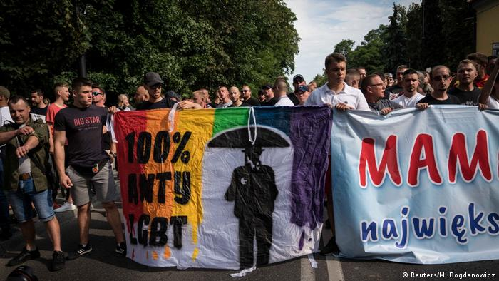 Homophobia in Poland still deeply entrenched
