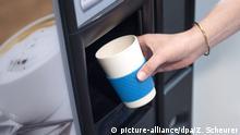 Deutschland Wiederverwendbarer Kaffeebecher aus Bambus