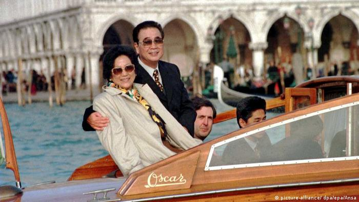 Li Peng macht Kurzurlaub in Venedig (picture-alliance/ dpa/epa/Ansa)