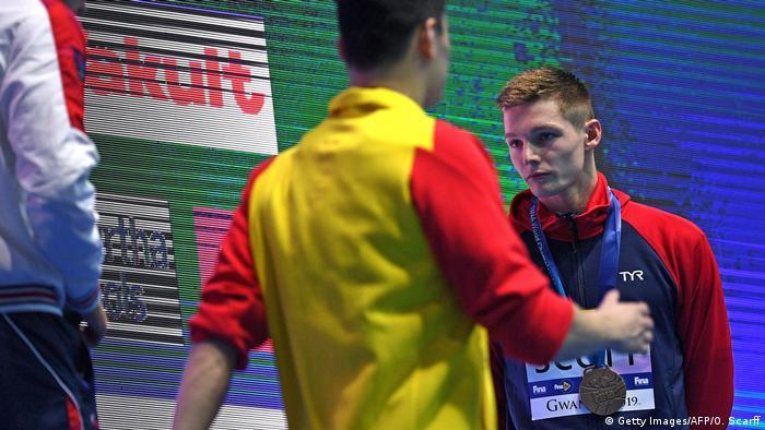 FINA Schwimmen Weltmeisterschaft 200 Meter Männer Duncan Scott